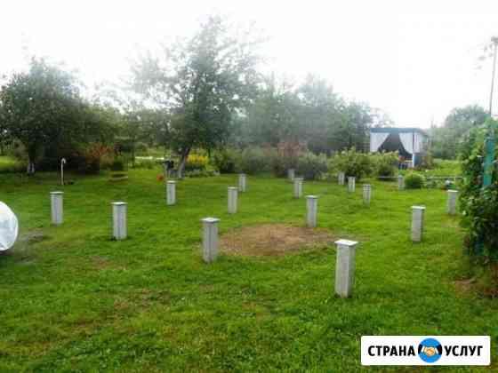 Фундамент забивных на железо-бетонных сваях Смоленск