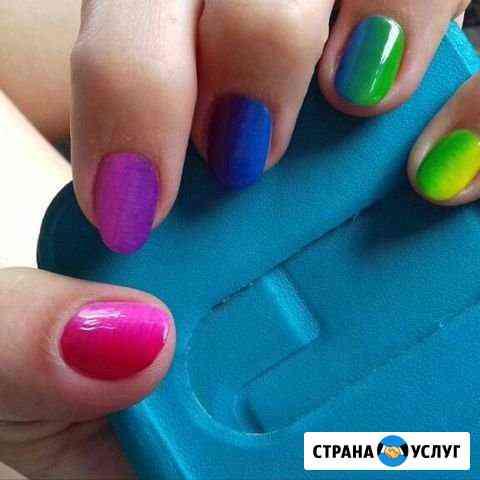 Покрытие гелем маникюр Рубцовск