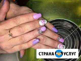Маникюр, наращивание ногтей, покрытие шеллаком Шуя