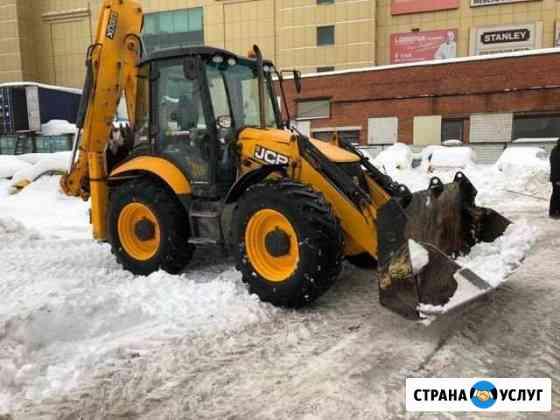 Услуги экскаватора-погрузчика JCB Коломна