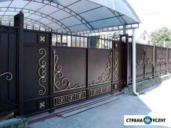 Заборы, решетки, ворота, навесы, мангалы, теплицы Нижний Новгород