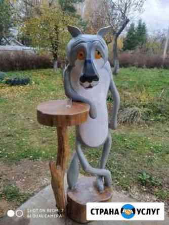 Изготовление скульптур из дерева Смоленск
