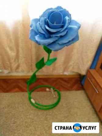 Светильник роза Мирный