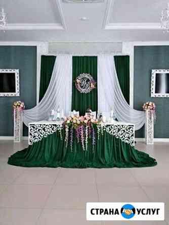 Оформление свадебного зала Новотитаровская