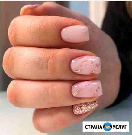 Маникюр + покрытие гель лаком, наращивание ногтей Соликамск