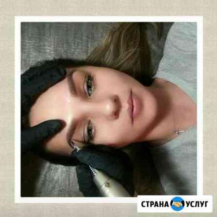 Татуаж (перманентный макияж) Теневая(пудрова) техн Челябинск