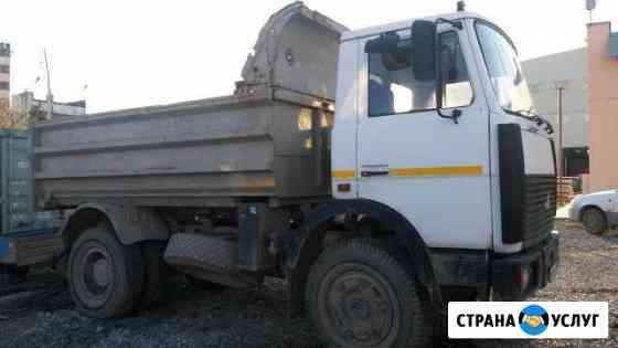 Вывоз мусора,доставка щебня,отсева самосвалом 10 Екатеринбург