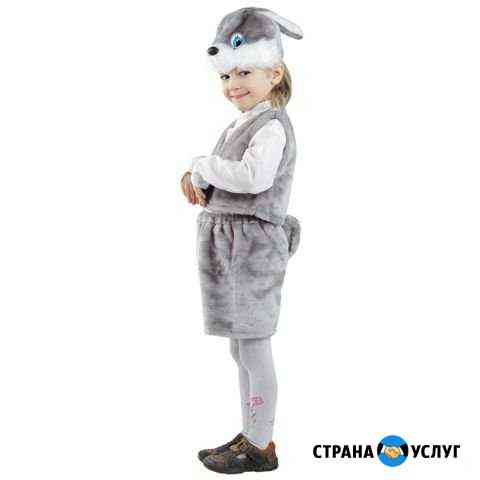 Прокат новогоднего костюма зайчик Архангельск