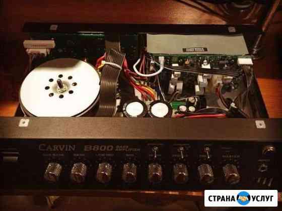 Ремонт аудио усилителей, колонок, ресиверов Ростов-на-Дону