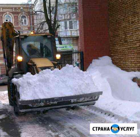 Уборка и утилизация снега и мусора Сыктывкар