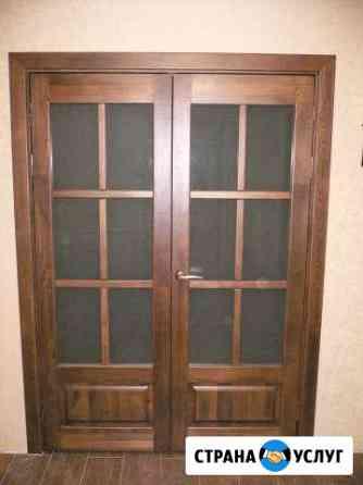 Деревянные двери из массива Рязань