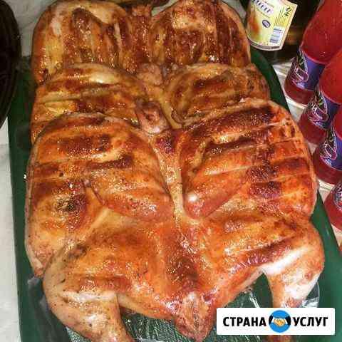 Шашлык из курицы Черкесск