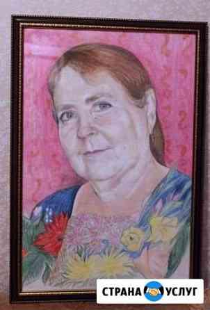 Портрет и шарж по фото, картины краской Брянск