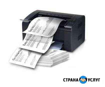 Печать, сканирование, форматирование документов Саранск