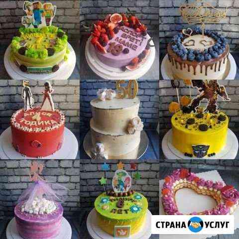 Торты, капкейки, кейк-попсы на заказ Хабаровск