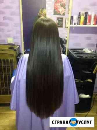 Профессиональное наращивание волос Уфа