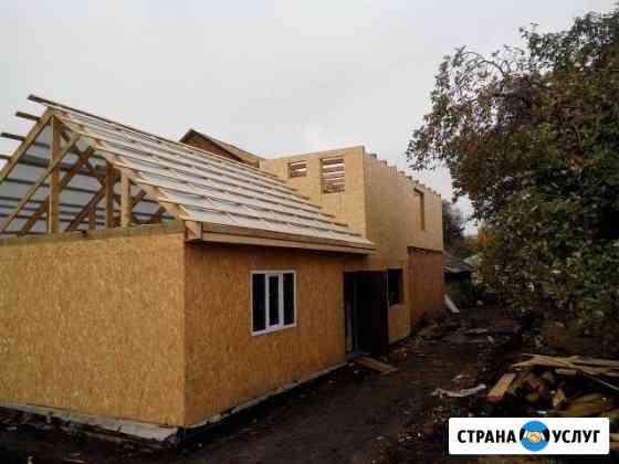 Строительство домов, кровля, фасады, материалы Мценск