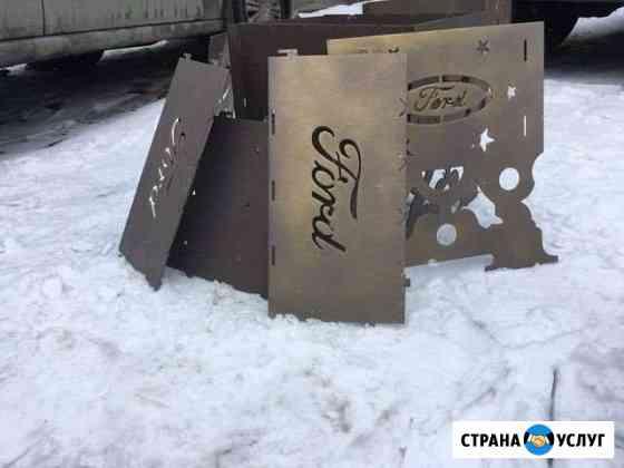 Мангал с вашим индивидуальным дизайном Москва