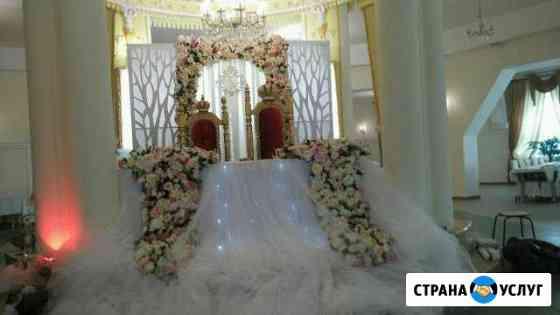 Свадебное оформление-тканями, цветами, декором Ставрополь