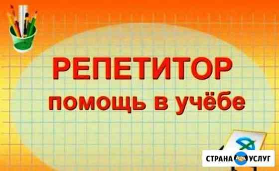 Репетитор по русскому языку Химки