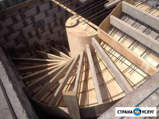 Заливка Ж/Б лестниц Элиста