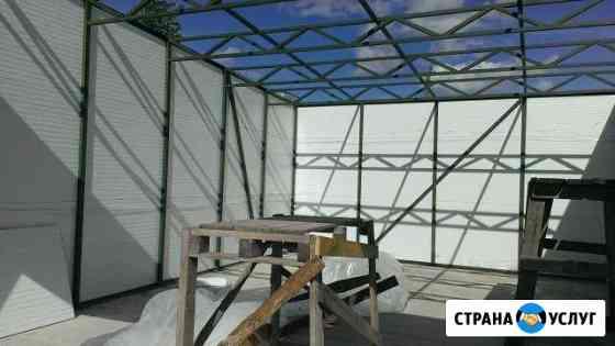 Ангар гараж павильон Янино-1