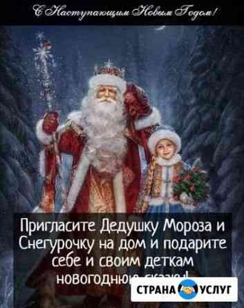 Дедушка Мороз и Снегурочка Новодмитриевская