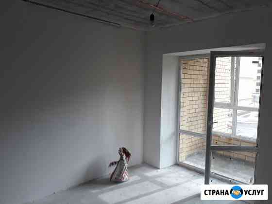 Штукатурка, шпатлёвка стен, стяжка пола во Владимире Владимир