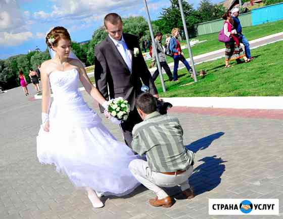 Видеосъемка фотосъемка свадьбы Зарайск Зарайск