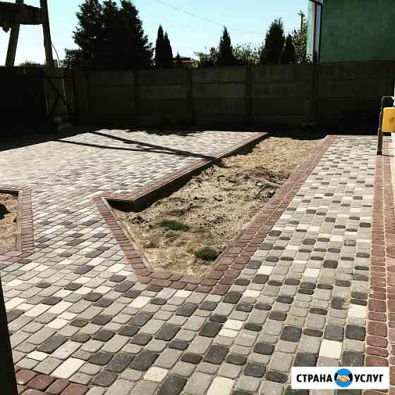 Укладка тротуарной плитки Калининград