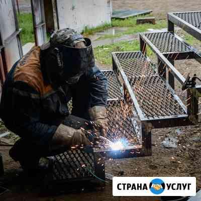 Сварочные работы, кессоны, металлоконструкции Череповец