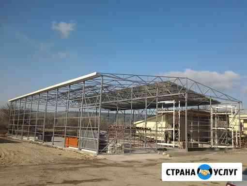 Быстровозводимые здания, каркасные дома, монолитное строительство Севастополь