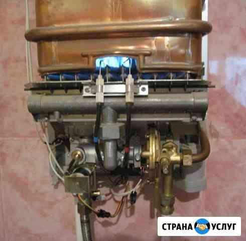 Ремонт газовых колонок (водонагревателей) и отопительных котлов Тула