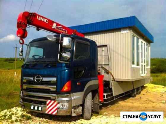 Услуги кран-борта, кран борт, кран манипулятор, эвакуатор в Иркутске Иркутск