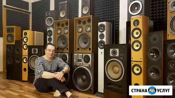 Ремонт акустических систем, динамиков, твитеров, замена подвесов Санкт-Петербург