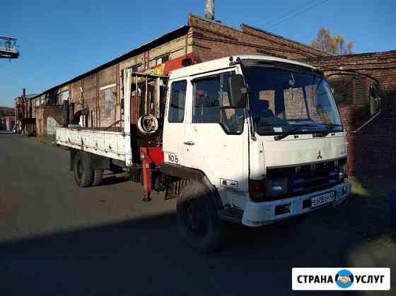 Услуги крана манипулятора (воровайки) Новокузнецк