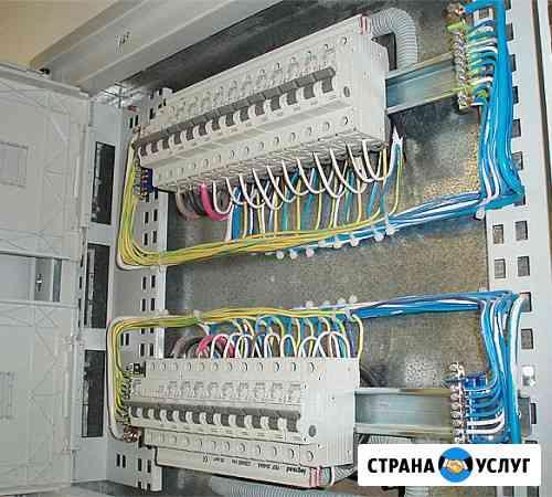 Услуги электрика, Электромонтажные работы Череповец