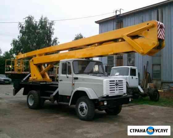 Услуги, Аренда Автовышки ЗИЛ 22 метра Череповец