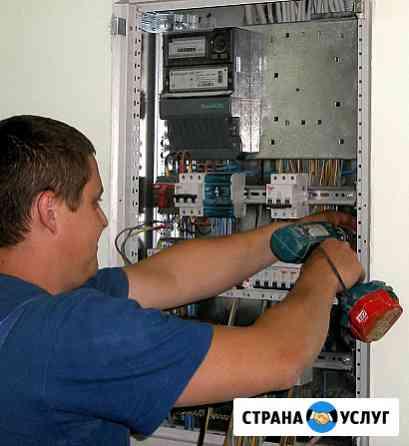 Услуги электрика, по городу, и области Рязань