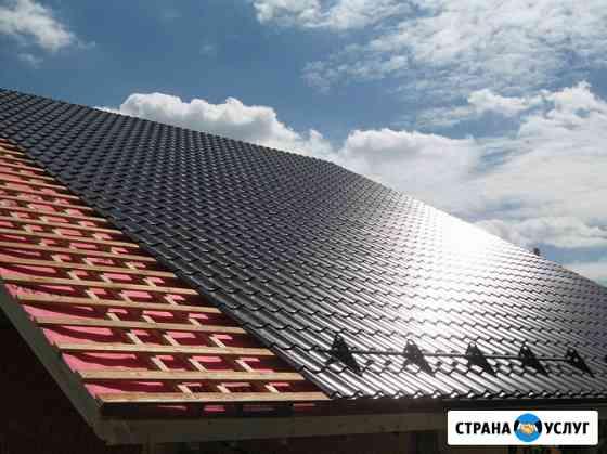 Монтаж крыши и кровельные работы Кимры