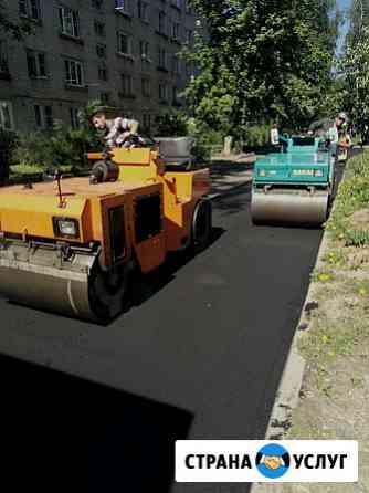 Асфальтирование. Тротуарная плитка Курск