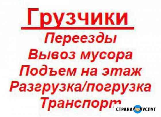 Переезды, вывоз мусора, грузчики Брянск