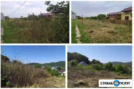 Покос травы Гостагаевская