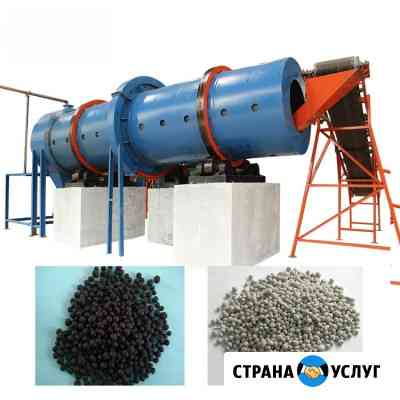 Оборудование для переработки и гранулирования помета, навоза, сапропеля в органическое удобрение Москва