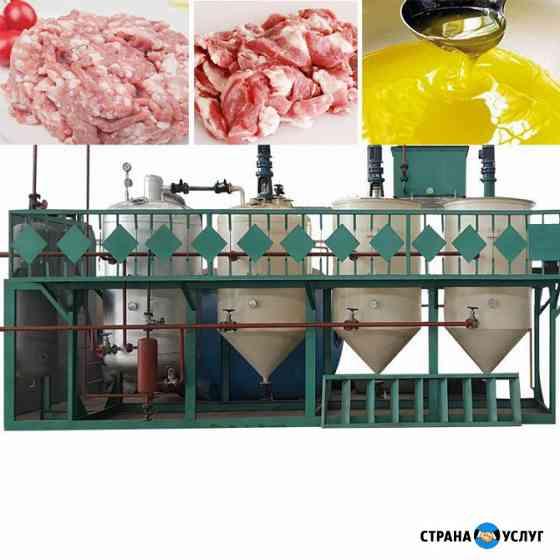 Оборудование для вытопки и переработки животного жира сырца, сала в пищевой, технический и кормовой Москва