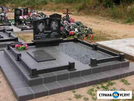 Благоустройство мест захоронения Вологда