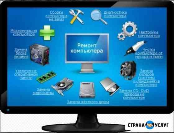 Компьютерная помощь до 1500 Комсомольск-на-Амуре