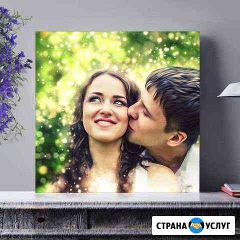 Печать фото на холсте Архангельск / Северодвинск Архангельск