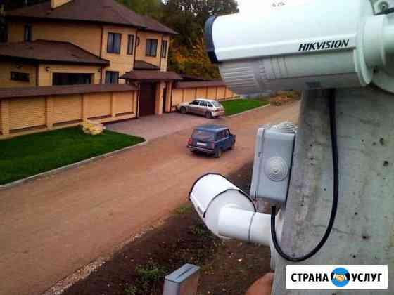 Установка видеонаблюдения Курск