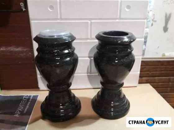 Гранитные вазы Иваново